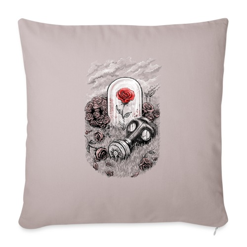 The Last Flower On Earth - Sofa pillowcase 17,3'' x 17,3'' (45 x 45 cm)