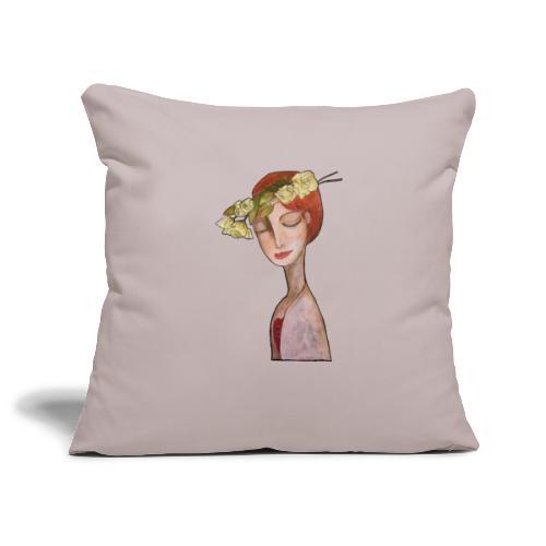 Close your eyes - Copricuscino per divano, 45 x 45 cm