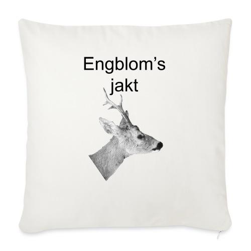 Officiell logo by Engbloms jakt - Soffkuddsöverdrag, 45 x 45 cm