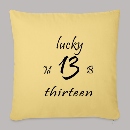 lucky 13 MB - Sofa pillowcase 17,3'' x 17,3'' (45 x 45 cm)