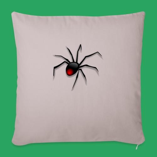 spider logo fantasy - Copricuscino per divano, 45 x 45 cm