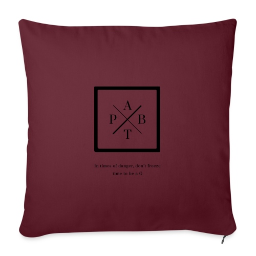 Transparent - Sofa pillowcase 17,3'' x 17,3'' (45 x 45 cm)