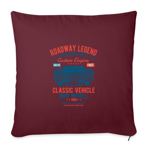 Roadway Legend - Sierkussenhoes, 45 x 45 cm