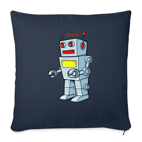 Robot - Copricuscino per divano, 45 x 45 cm