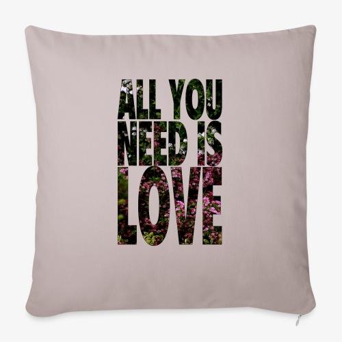 All You need is love - Poszewka na poduszkę 45 x 45 cm