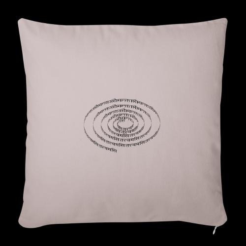 spiral tattvamasi - Sofakissenbezug 44 x 44 cm