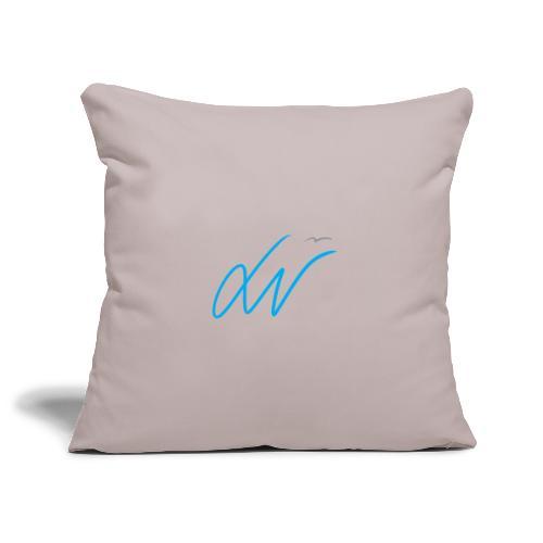 LavoroMeglio - Copricuscino per divano, 45 x 45 cm