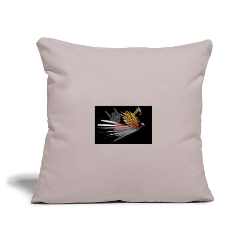 Abstarct Bird and Skeleton Hand - Sofa pillowcase 17,3'' x 17,3'' (45 x 45 cm)
