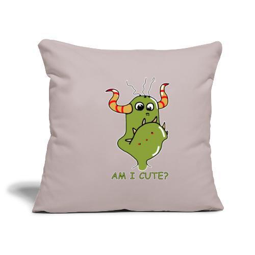 Cute monster - Sofa pillowcase 17,3'' x 17,3'' (45 x 45 cm)