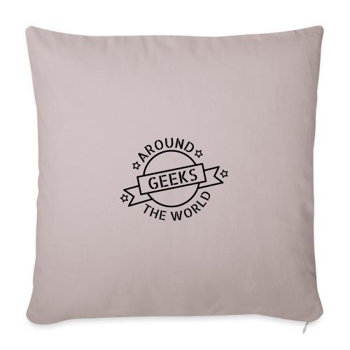 Geeks around the world - Housse de coussin décorative 45x 45cm