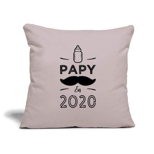 Papy en 2020 - Housse de coussin décorative 45x 45cm