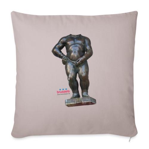 mannekenpis Real Big ♀♂ | 撒尿小童 - Housse de coussin décorative 45x 45cm