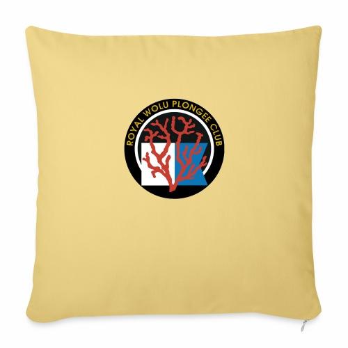 Royal Wolu Plongée Club - Housse de coussin décorative 45x 45cm