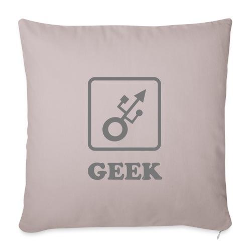 Geek USB - Housse de coussin décorative 45x 45cm