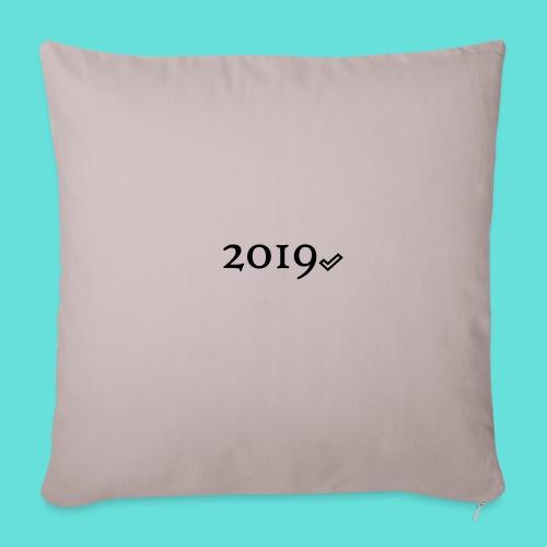 Valide 2019 - Housse de coussin décorative 45x 45cm