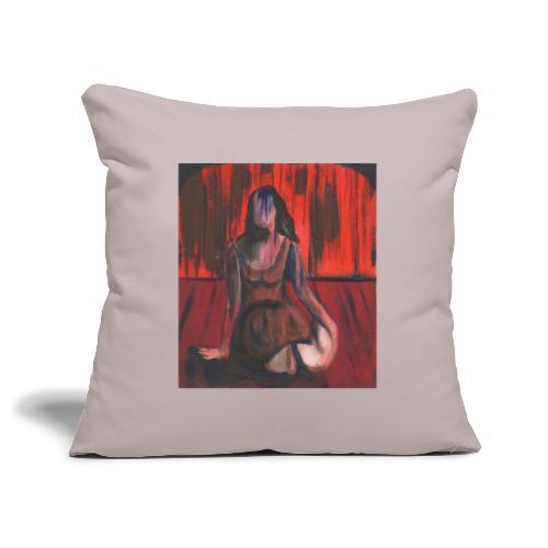 Donna 4 - Copricuscino per divano, 45 x 45 cm