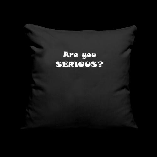 Are you serious weiss - Copricuscino per divano, 45 x 45 cm