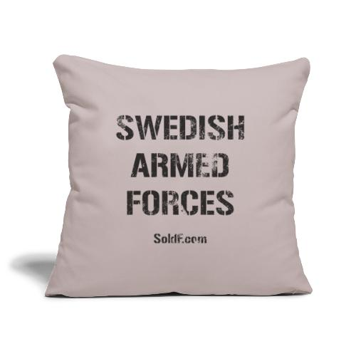 Swedish Armed Forces - Soffkuddsöverdrag, 45 x 45 cm