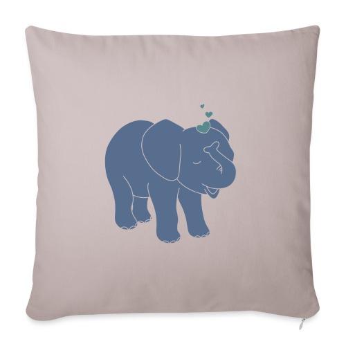 Little elephant - Sofakissenbezug 44 x 44 cm