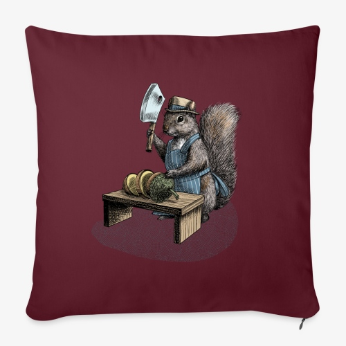 Squirrel nut cracker - Sofa pillowcase 17,3'' x 17,3'' (45 x 45 cm)