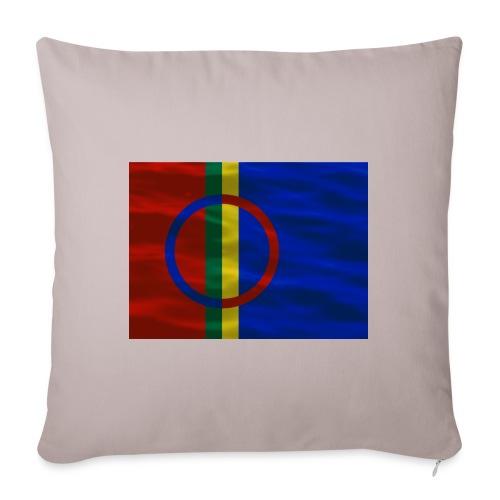 Sapmi flag - Sofaputetrekk 45 x 45 cm