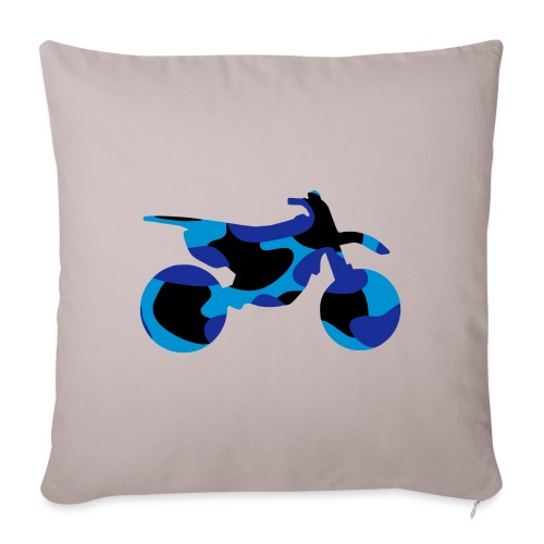 Camo Dirtbike 0DB01 - Sofa pillowcase 17,3'' x 17,3'' (45 x 45 cm)