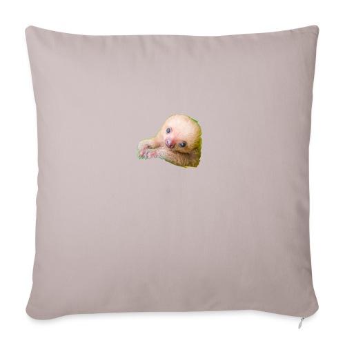 International sloth day sale - Sofa pillowcase 17,3'' x 17,3'' (45 x 45 cm)