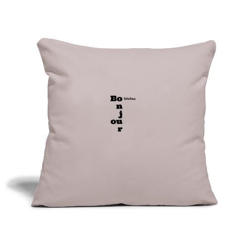 BONJOUR BITCHES - Poszewka na poduszkę 45 x 45 cm
