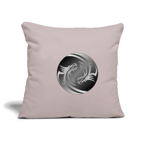 Yin Yang Dragon - Sofa pillowcase 17,3'' x 17,3'' (45 x 45 cm)