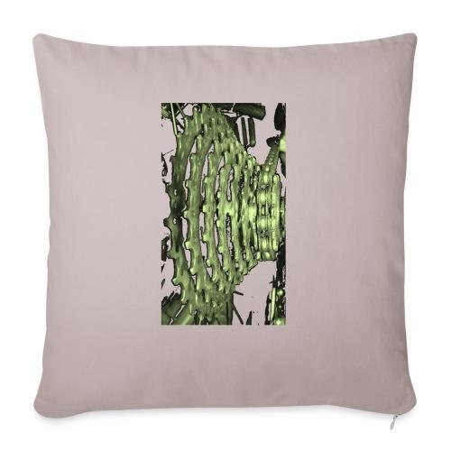 cluster_pale_green_copy - Sofa pillowcase 17,3'' x 17,3'' (45 x 45 cm)