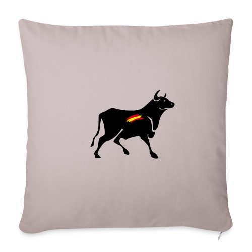toro español - Funda de cojín, 45 x 45 cm