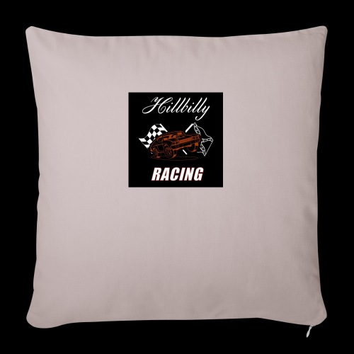 Hillbilly racing merchandise - Sierkussenhoes, 45 x 45 cm