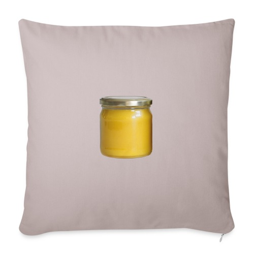 Honungsburk med Maskroshonung - Soffkuddsöverdrag, 45 x 45 cm