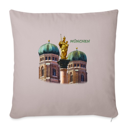 München Frauenkirche - Sofakissenbezug 44 x 44 cm