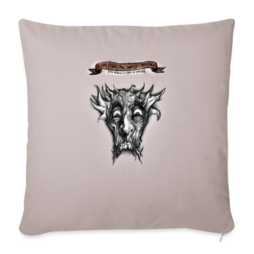 T-shirt del Dio Diaforo Tossidoille - Copricuscino per divano, 45 x 45 cm