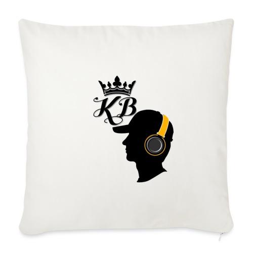 headphones - Sofa pillowcase 17,3'' x 17,3'' (45 x 45 cm)