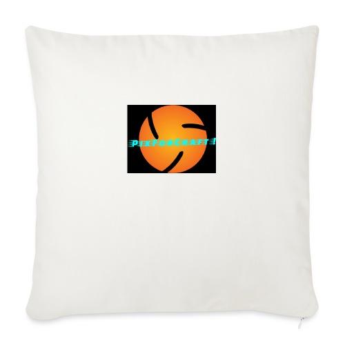 LOGO PixForCraft (Le logo de Juin 2017) - Housse de coussin décorative 45x 45cm