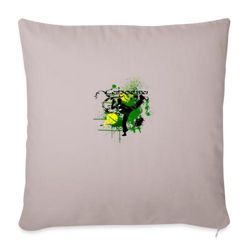 Capoeira Brasil - Sofa pillowcase 17,3'' x 17,3'' (45 x 45 cm)