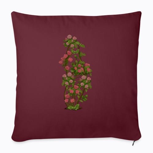 roses - Sofa pillowcase 17,3'' x 17,3'' (45 x 45 cm)