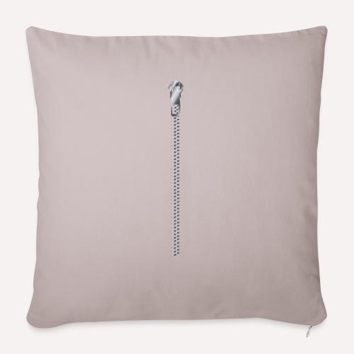 Zipper Funny Surprising T-shirt, Hoodie,Cap Print - Sofa pillowcase 17,3'' x 17,3'' (45 x 45 cm)