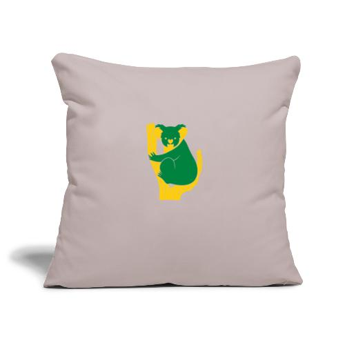 koala tree - Sofa pillowcase 17,3'' x 17,3'' (45 x 45 cm)