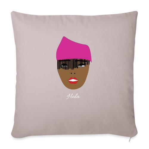 Pink lady - Soffkuddsöverdrag, 45 x 45 cm