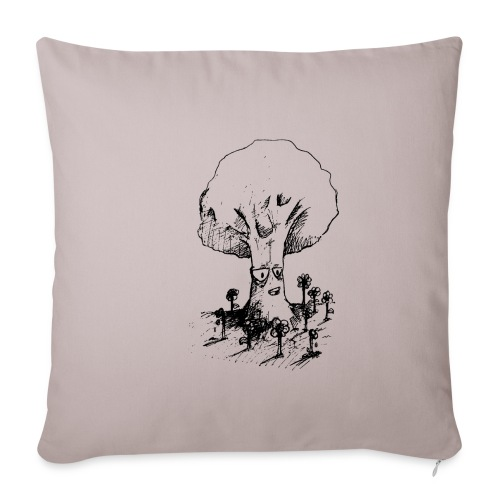 Sage Tree - Sofa pillowcase 17,3'' x 17,3'' (45 x 45 cm)