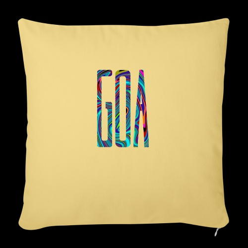 Goa Batik Style Shirt Design - Sofakissenbezug 44 x 44 cm