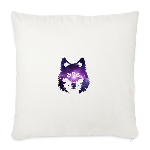 Galaxy wolf - Housse de coussin décorative 45x 45cm