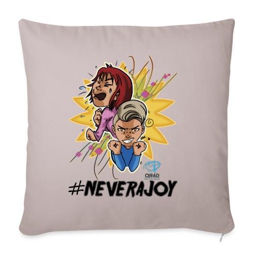 #neverajoy - Copricuscino per divano, 45 x 45 cm
