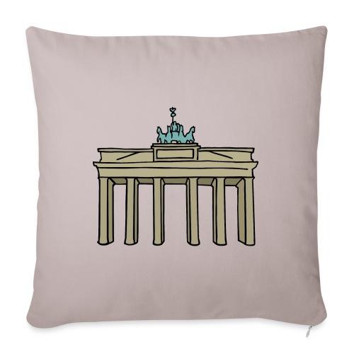Porte de Brandebourg BERLIN c - Housse de coussin décorative 45x 45cm