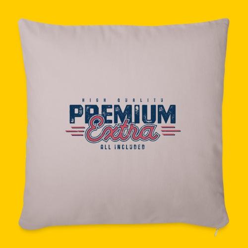 Premium - Soffkuddsöverdrag, 45 x 45 cm