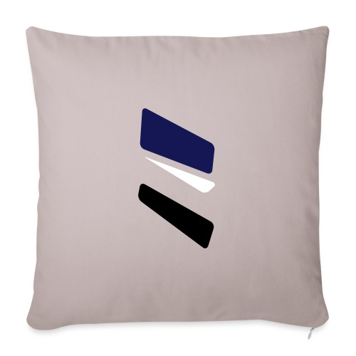 3 strikes triangle - Sofa pillowcase 17,3'' x 17,3'' (45 x 45 cm)