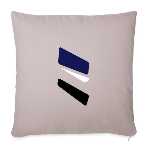 3 strikes triangle - Sofa pillowcase 17,3'' x 17,3'' (45 x 45 cm)
